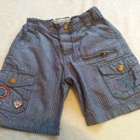 Bermuda Jeans BabyClub - 1 ano - Baby Club