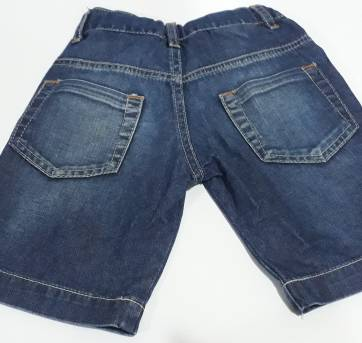 Bermuda Jeans Gracinha - 1 ano - Ano Zero