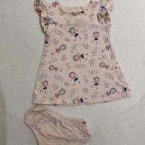 Vestido Gatinhos Rosa - 3 meses - Teddy Boom