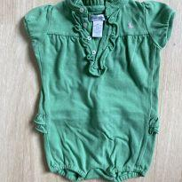 Body Polo Ralph Lauren Verde Bandeira - 9 meses - Ralph Lauren