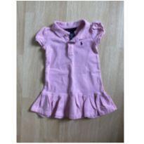 Vestido Polo Ralph Lauren Rosinha - 1 ano - Ralph Lauren