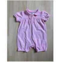 Romper Rosa Claro Polo Ralph Lauren - 9 meses - Ralph Lauren