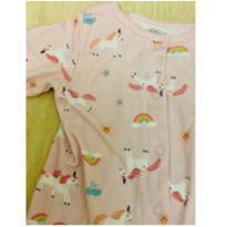 Macacão Pijama Rainbow - 9 meses - Carter`s
