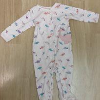Macacão pijama Dinossaurinhos - 9 meses - Carter`s