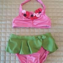 Biquini Gymboree para princesinhas de 12 a 18 meses - 12 a 18 meses - Gymboree