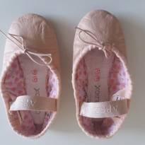 Sapatilhas de Ballet 100% Couro, original Capezio (Tam 10N EUA) - 26 - CAPEZIO