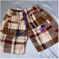 Short regulável na cintura com bolsos - 1 ano - Não informada