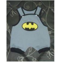 Body do Batman para menino - 3 a 6 meses - Não informada
