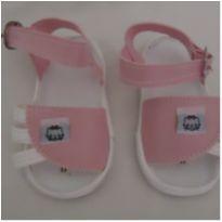 Sandália para bebê nº 17 - 01 - Não informada
