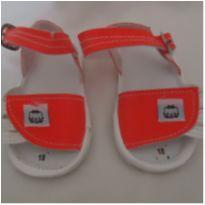 Sandália para bebê nº 18 - 01 - Não informada