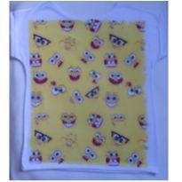 Camiseta Bob esponja - 3 anos - Não informada
