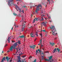 Vestidinho florido - 1 ano - Zig Zig Zaa