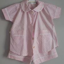Pijama curto importado - 1 ano - Marca não registrada