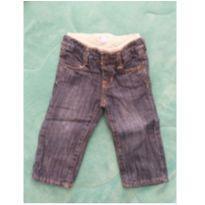 Calca jeans forrada Gap - 9 a 12 meses - Baby Gap