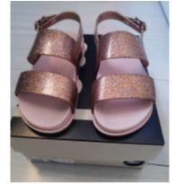 Melissa Mel rosa glitter