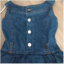 Vestido jeans - 4 anos - pernambucanas