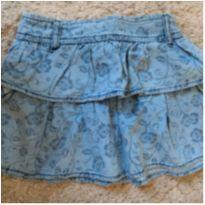 Saia jeans - 4 anos - sem etiqueta