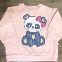 Blusa de moletom ursa panda, Abrange - 9 a 12 meses - Abrange