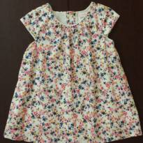 Vestido floral Baby Club charmoso!!!! - 12 a 18 meses - Baby Club