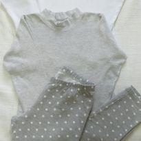 Kit calça poás e camisetas básicas