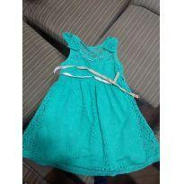 Vestido Verde - 1 ano - Angerô