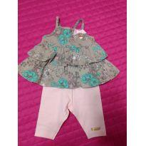 Conjunto Hello Kitty - 0 a 3 meses - Hello Kitty by Sanrio