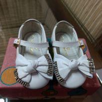 Sapato Branco - 18 - Ortopasso