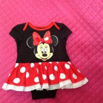 Body Minie - 3 a 6 meses - Disney