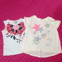 Kit 2 Camisetas - 24 a 36 meses - Baby Club e Marlan