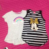 Kit 3 Camisetas - 3 anos - Disney e Baby Club