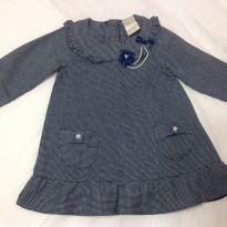 Vestido Milon Manga longa tamanho G (bebê) - 6 a 9 meses - Milon
