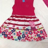 Vestido Peppa - 24 a 36 meses - Malwee