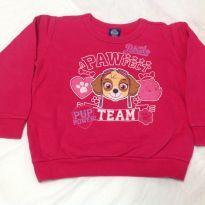 Blusão Patrulha Canina - 3 anos - Malwee