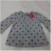 Blusa Cárter`s tamanho 6-9 meses - 6 a 9 meses - Carter`s