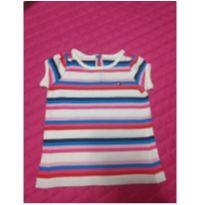 Camiseta Tommy - 3 a 6 meses - Tommy Hilfiger