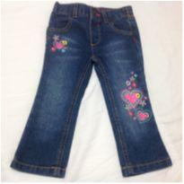 Calça Jeans - 12 a 18 meses - Healthtex