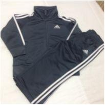 Agasalho Adidas Cinza - 12 a 18 meses - Adidas