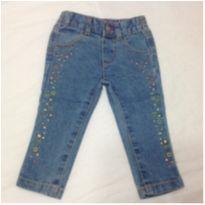 Calça Jeans Healthtex - 9 a 12 meses - Healthtex