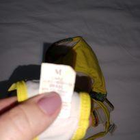 Biquíni amarelo - 6 anos - Não informada