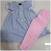 Conjunto US Polo ASSIN Tam 5 - 5 anos - US Polo Assn