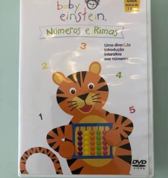 DVD Baby Einstein: Números e Rimas - Sem faixa etaria - Baby Einstein
