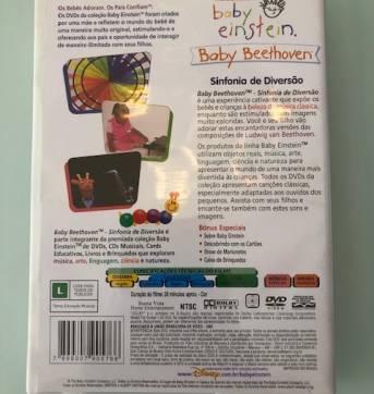 """DVD Baby Einstein """"Sinfonia de Diversão"""" - Sem faixa etaria - Baby Einstein"""