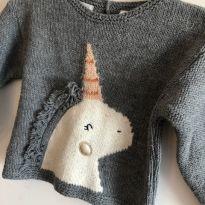 Malha Unicórnio da Zara Baby - 12 a 18 meses - Zara Baby