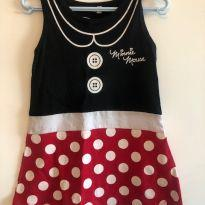 Vestido Minnie - 2 anos - Não informada