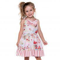 Vestido Chapeuzinho Vermelho - 1 ano - Mon Sucré