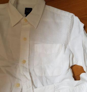 Camisa branca Gap - 8 anos - GAP