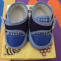 Tênis azul marinho Bisuzinho Baby - Tamanho: 15 - 15 - Bisuzinho baby