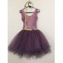 Fantasia Rapunzel Ki Tutu Ballet - Tamanho: 7/8 anos -  - Ki Tutu Ballet