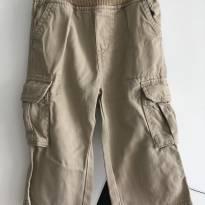 Calça Cargo OshKosh - Tamanho: 12 a 18 meses - 12 a 18 meses - children