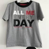 T-shirt All Me Every Day Reebok - Tamanho: 24 meses - 2 anos - Reebok